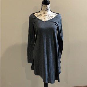 Asymmetrical Long sleeve Tunic/Dress